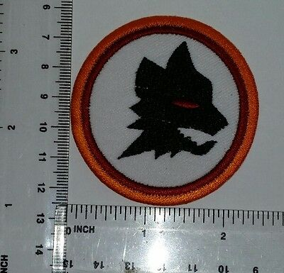 786 ITALIA ASR AS Roma Football Soccer RICAMATO TOPPA Embroidered Patch