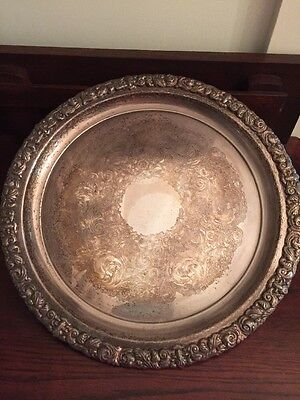 Ranleigh Reproduction silver Plate tray 1.6kl