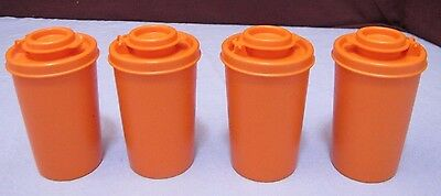 Set Of 4 Vintage Tupperware Spice Containers