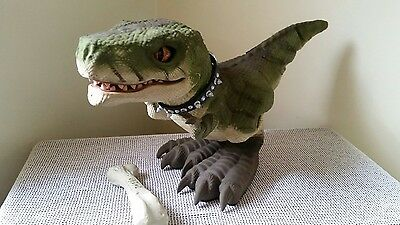 Mattel D-Rex Animated/interactive Dinosaur With Remote And Instructions
