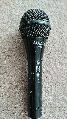 Audix OM2 Dynamic Cardioid Microphone with switch