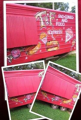 Food Trailer /Snowcone In Great Condition Pick Up Only (3500)
