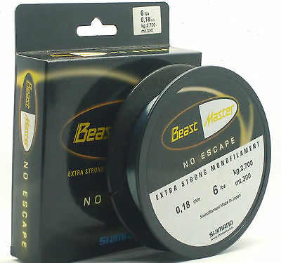 Shimano Beast Master Extra Strong Monofilament Fishing Line BRAND NEW