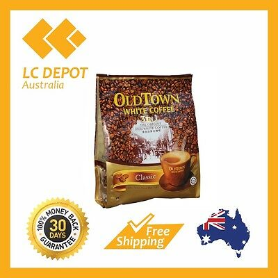 2 packs Old Town 3 in 1 Instant Oldtown Classic White Coffee (40g x 30 Sachets)