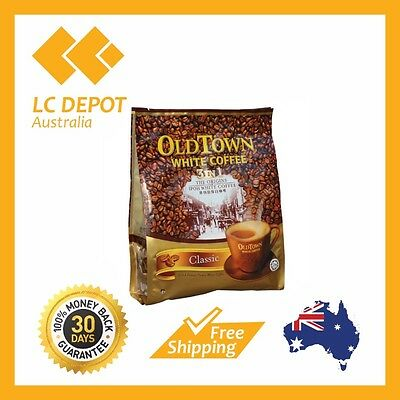 4 packs Old Town 3 in 1 Instant Oldtown Classic White Coffee (40g x 60 Sachets)