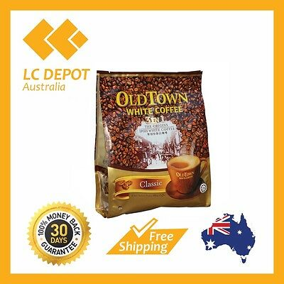 6 packs Old Town 3 in 1 Instant Oldtown Classic White Coffee (40g x 90 Sachets)