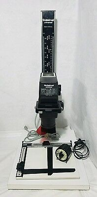 Rollei Rolleimat Universal Enlarger complete with timer and  Bogan 8 x 10 easel
