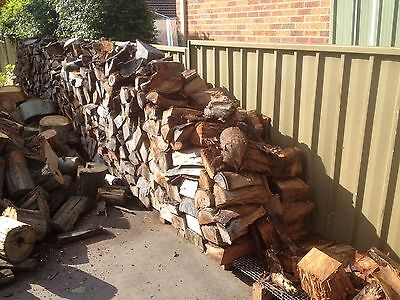 FIREWOOD  Seasoned Hardwood Gum, Split (for combustion stove,BBQ, fireplace,etc)