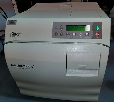 Midmark Ritter M9 Ultraclave Sterilizer Automatic Refurbished Excellent !!!