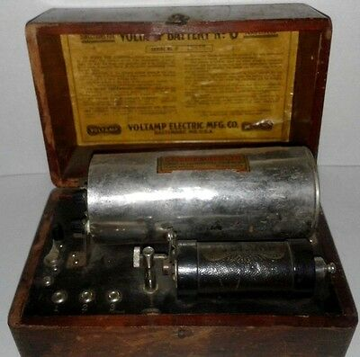 Medical Device - Voltamp Battery -  Antique -  Electrotherapy