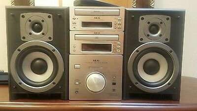 AKAI 3 in 1 Hi-Fi Micro Component System AA-503R very rare! Mint condition