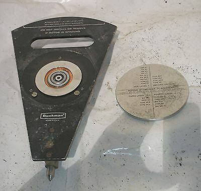 Beckman L2-65B Ultra Centrifuge Rotor Safety Placement Guide w Switch