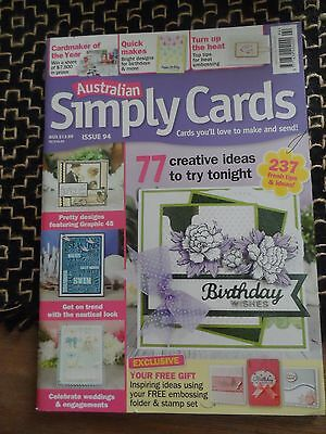 Australian Simply Cards- Issue 94
