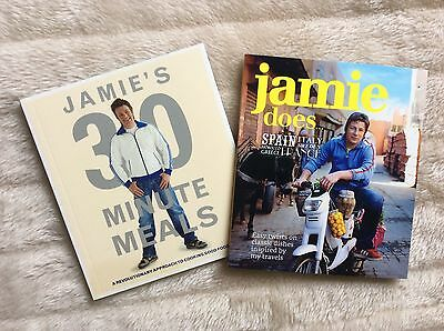 JAMIE OLIVER Does... 30 Minute Meals Mini COOKBOOK Collection VGC