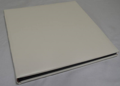 White Leather Dry Mount Photo Album for Weddings, Photo Booth or Other Events
