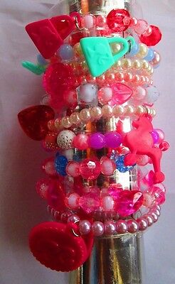 Set of Girls Barbie Bracelets-10 in set