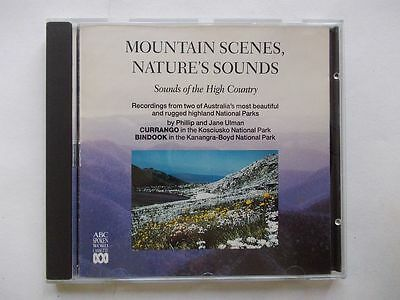 Mountain Scenes Nature's Sounds by Philip and Jane Ulman (CD-Audio, 1991)