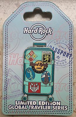 Hard Rock Cafe Global Traveler series 17 Pin Antwerp Belgium Limited Edition