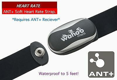 Wahoo fitness - Heart Rate - ANT+ Soft Heart Rate strap for iPod & iPhone