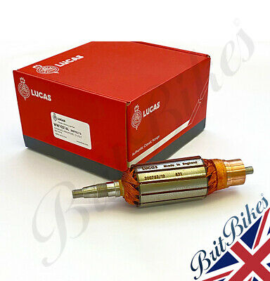 DYNAMO ARMATURE - BSA 12v 60W fits A7/A10 - 190mm length with taper - 200752