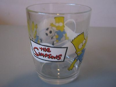 The Simpsons Collectable Glass - Nutella 2008