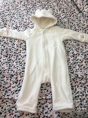 Old Navy 12-18 Month Bear Bunting Snow Suit