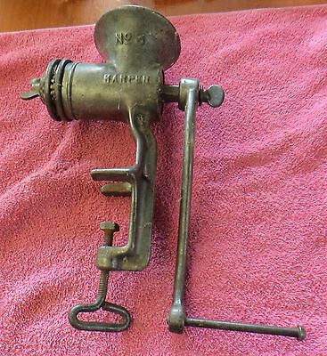 Harper Number 3 Mincer, Made In England, Kitchen Mincer
