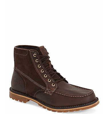 Timberland Grantly Moc Toe Boot In Dark Brown Brand New In Box Size 10.5 Or 11