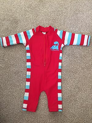 All In One Swim Suit 9-12 Months