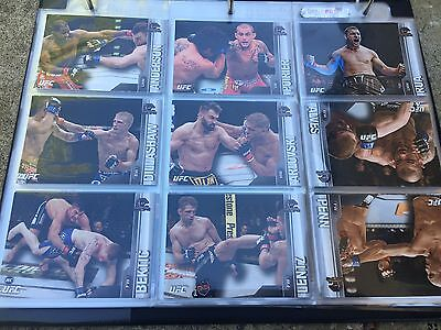 Topps 2015 UFC champions Trading Cards