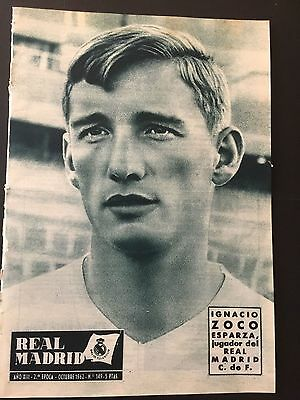 1962–63 European Cup.Anderlecht-R.Madrid. 1st and 2 leg.Official magazine