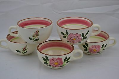 Stangl Wild Rose Set of 5 Cups