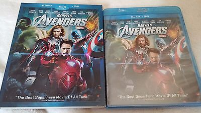 The Avengers (Blu-ray/DVD, 2012, 2-Disc Set) Brand New w/ Slipcover