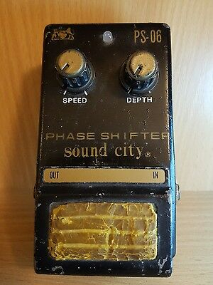Sound City Phase Shifter (PS-06) guitar pedal