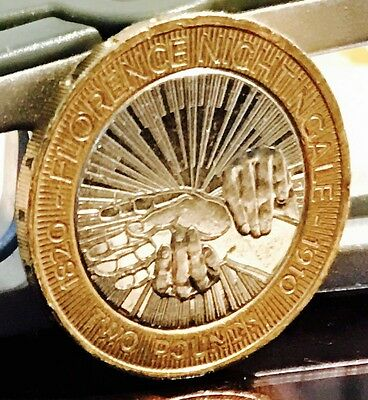 2010 2 coin florence nightingale rare two pounds in for Coin firenze