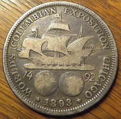 1893 Columbian Exposition Half-Dollar - Extremely nice coin (9323)