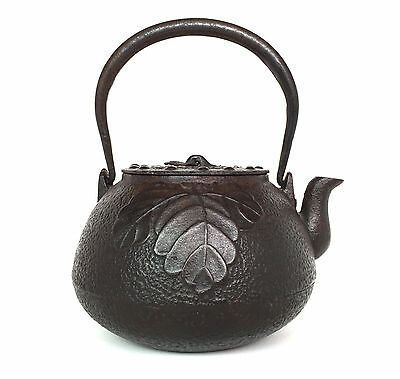 Antique Japanese Tetsubin Cast Iron Teapot 19th / Early 20th Century  鉄瓶  No 1