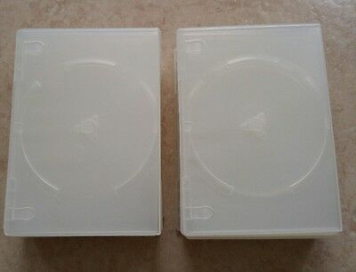 Clear Slim DVD Cases. Lot of 50