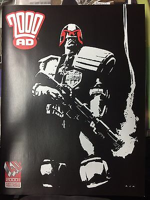 2000AD 40TH ANNIVERSARY SPECIAL DAVID AJA  No Titles VIRGIN Cover Variant