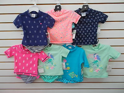 Infant & Toddler Girls Carter's 2pc Assorted Swim Sets Size 18 Months - 3T