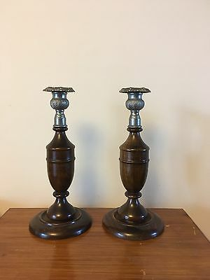Pair of Vintage Candle Sticks