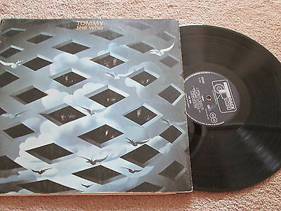 The Who - Tommy - Original Track Label - Double Vinyl Lp Record