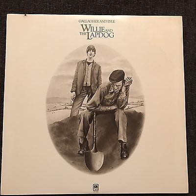 Gallagher And Lyle - Willie And The Lapdog (US Vinyl LP, 1973). 1st Pressing