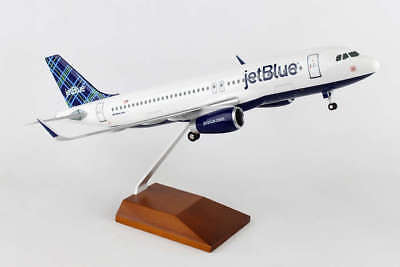 """Airplane Jet Blue Airbus A321-200 Jet Mint Livery 17.36"""" Model Aircraft"""