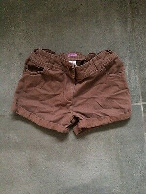 Girls Brown Shorts Age 10-11 From  F & F