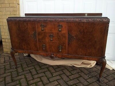 Beautiful Antique Sideboard Table
