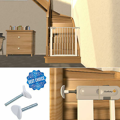 Safety 1st Spindle for Pressure Fit Gates White Pack of 2 Pet Baby Stair Gate