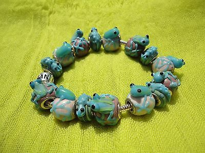 Pandora Frogs, Frogs and More Frogs Bracelet