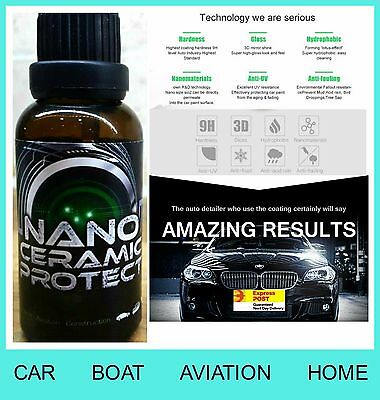 PRO Nano Ceramic Car Body Paint Protective Coating 9H Hardness-EXPRESS POST