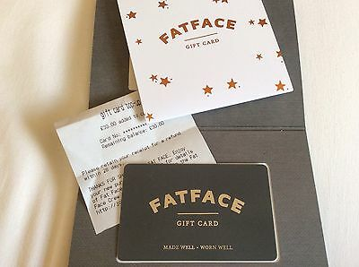 Fat Face Gift Card Value £30